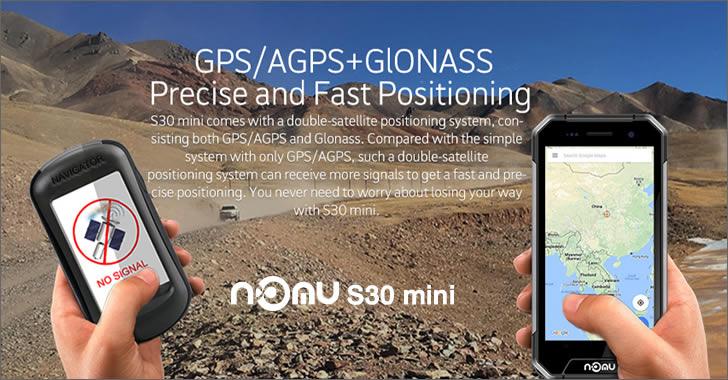 Nomu S30 mini GPS