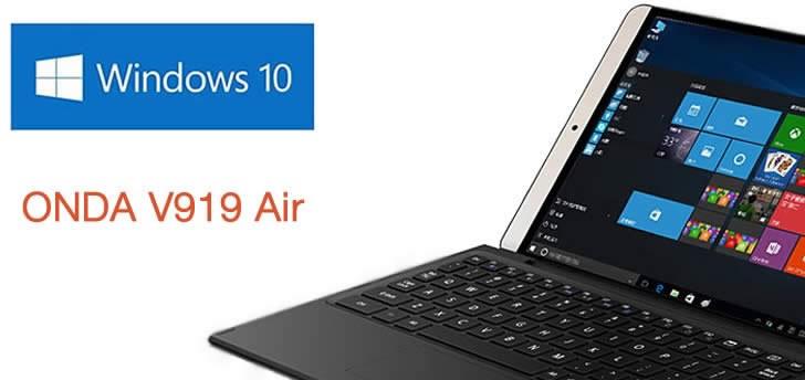 Onda V919 Air - Windows 10 и Android таблет с 9.7-инчов дисплей и ултрависока резолюция