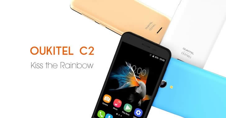 Oukitel C2 colors