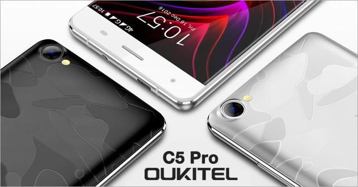 Oukitel C5 Pro - максимално евтин 4G смартфон с много здрав екран на склад в Европа