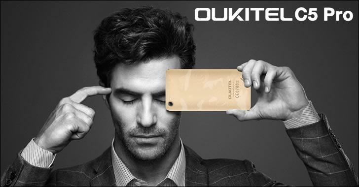 Oukitel C5 Pro design