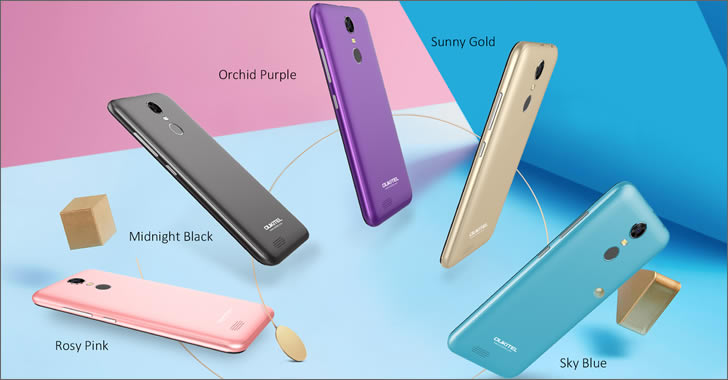Oukitel C8 colors