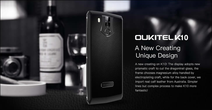 Oukitel K10 leather