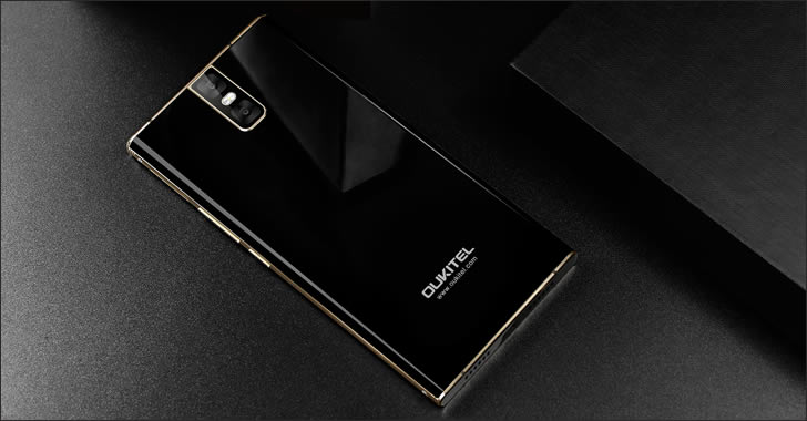 Oukitel K3 design back