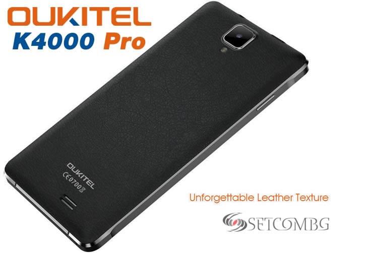 Oukitel K4000 Pro back panel