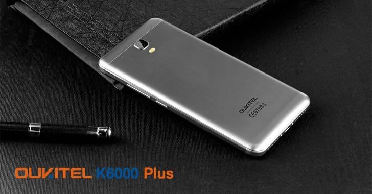 Oukitel K6000 Plus silver