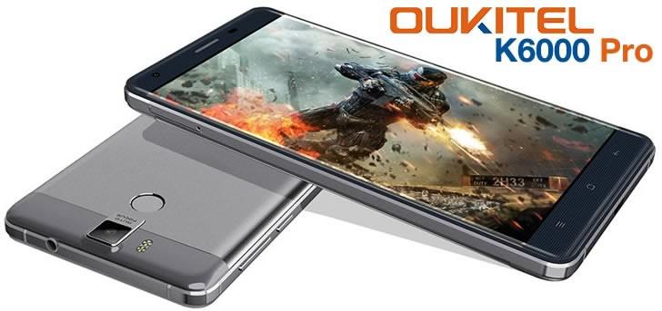 Oukitel K6000 Pro design