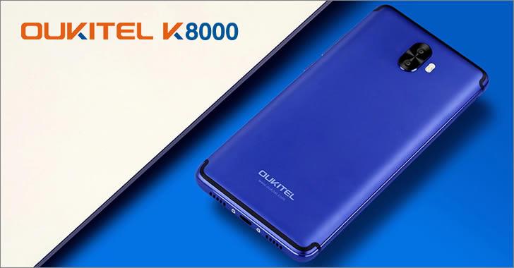Oukitel K8000 back