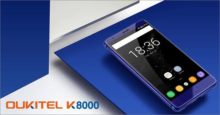 Oukitel K8000 blue