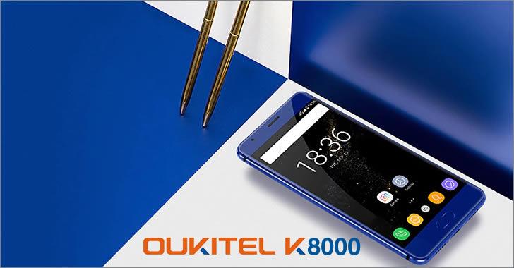 Oukitel K8000 front