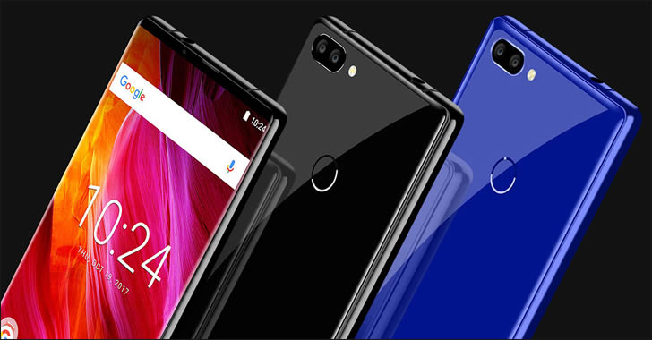 Oukitel MIX 2 colors