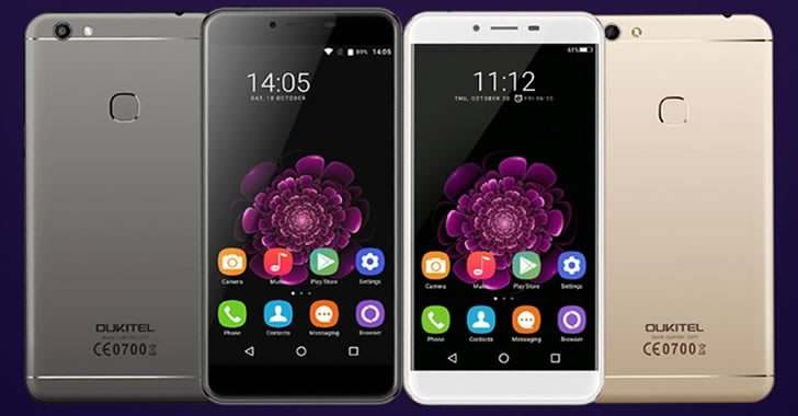 Oukitel U15S colors