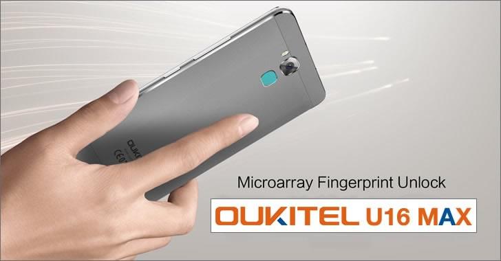 Oukitel U16 Max fingerprint