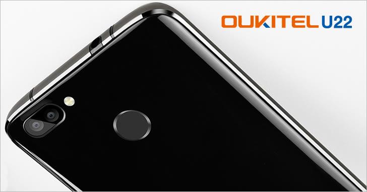 Oukitel U22 back