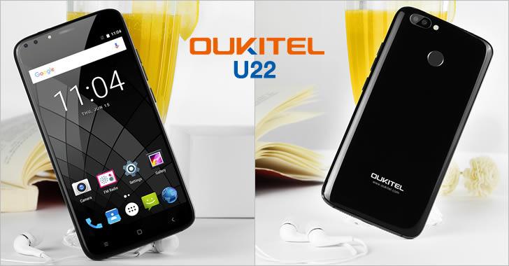 Oukitel U22 front back