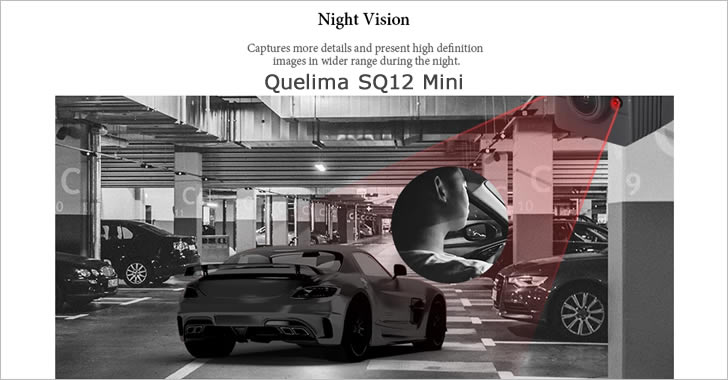 Quelima SQ12 night vision
