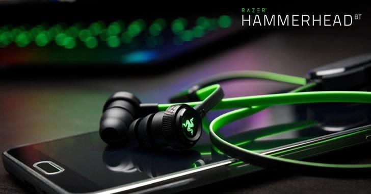 Hammerhead V2 - безжични слушалки с микрофон за смартфони от Razer