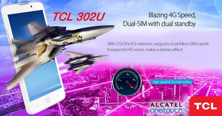TCL 302U Dual 4G