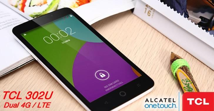 TCL 302U - евтин 4G смартфон с 2 SIM карти и 5-инчов дисплей