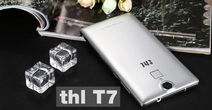 THL T7 back panel