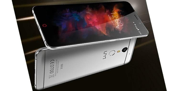 UMi Max - 6-инчов китайски смартфон с AMOLED екран и 6GB RAM