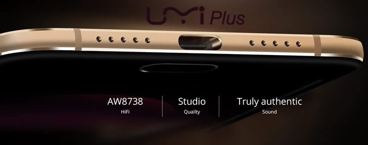 UMI Plus audio