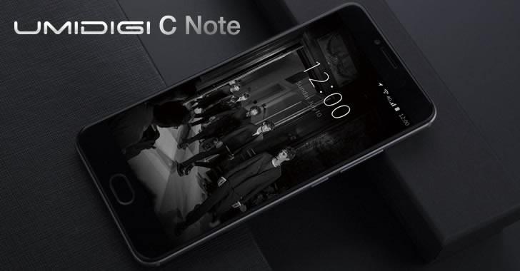 UMIDIGI C Note front