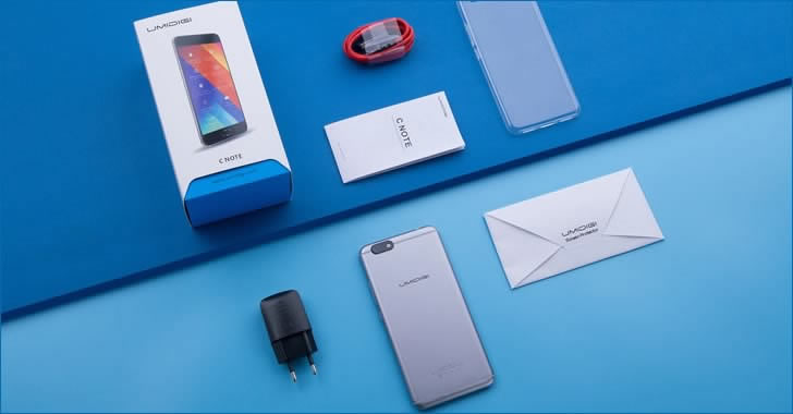 UMIDIGI C Note packing
