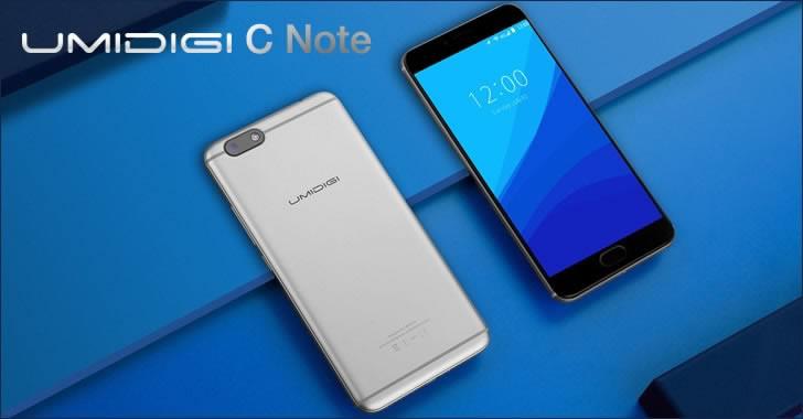 UMIDIGI C Note - смартфон с голяма батерия, метален корпус и Full HD дисплей