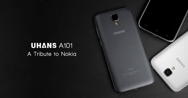 Uhans A101 - модерен 4G смартфон за по-малко от 150 лева