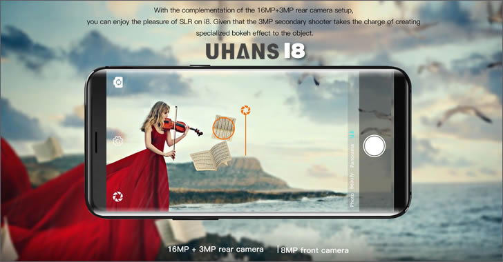 Uhans i8 camera
