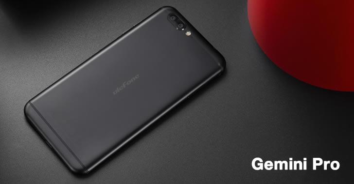 Ulefone Gemini Pro back black