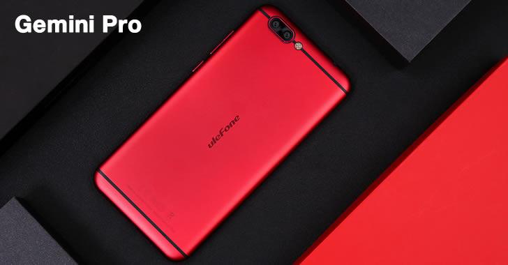 Ulefone Gemini Pro back