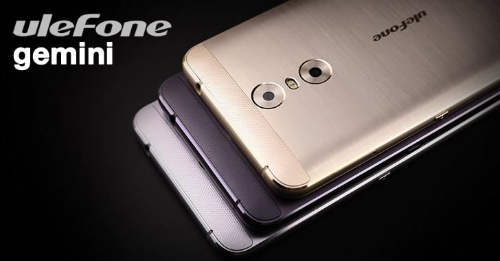 Ulefone Gemini colors