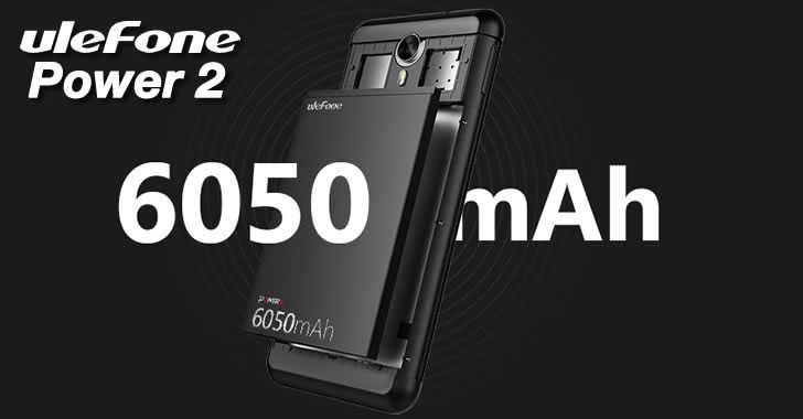 Ulefone Power 2 battery