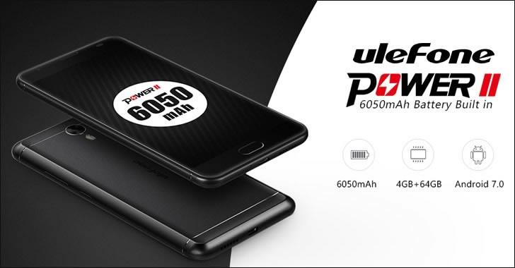 Ulefone Power 2 - огромна 6050mAh батерия, метален корпус, 4GB RAM и добри характеристики