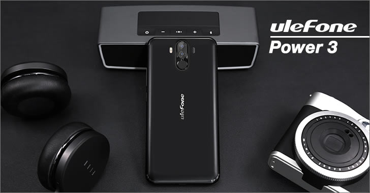 Ulefone Power 3 back