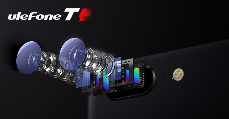 Ulefone T1 camera