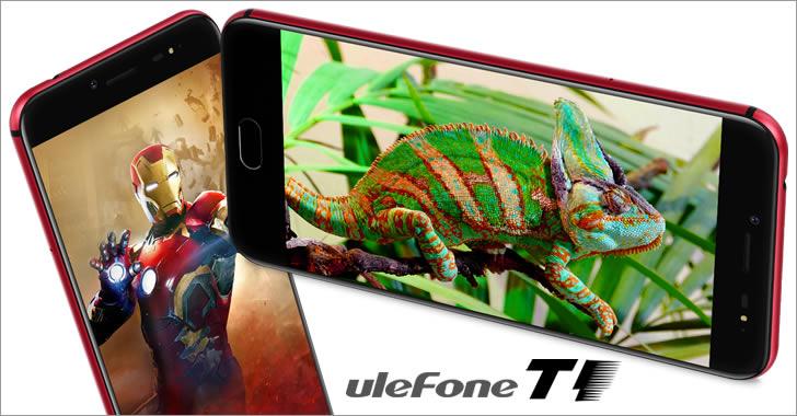 Ulefone T1 red