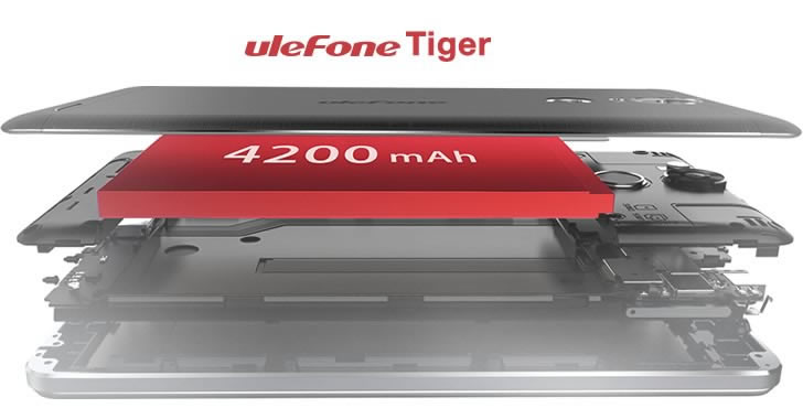 Ulefone Tiger battery