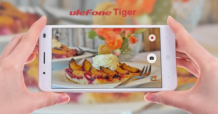 Ulefone Tiger camera