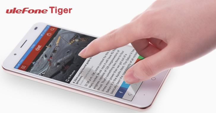 Ulefone Tiger touch