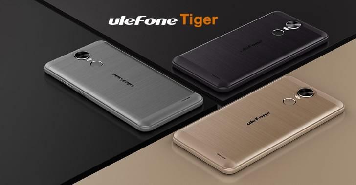 Ulefone Tiger - евтин смартфон с метален корпус и голяма батерия