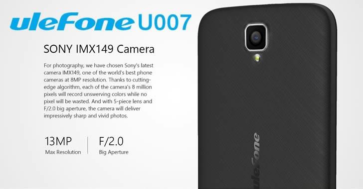 Ulefone U007 camera