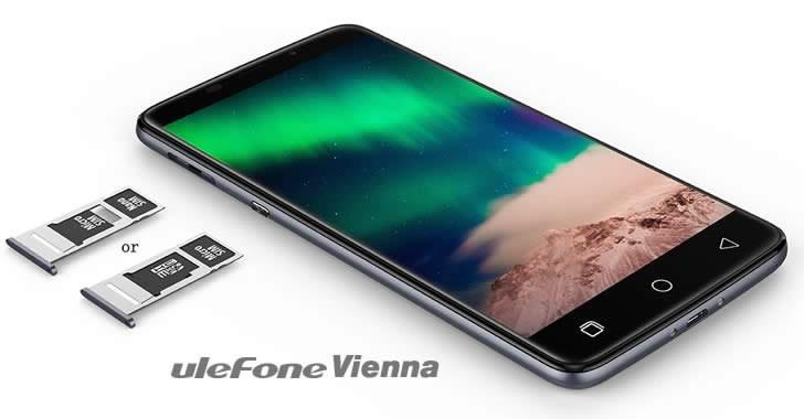 Ulefone Vienna card slots