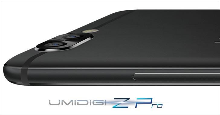UMIDIGI Z Pro 2 cameras