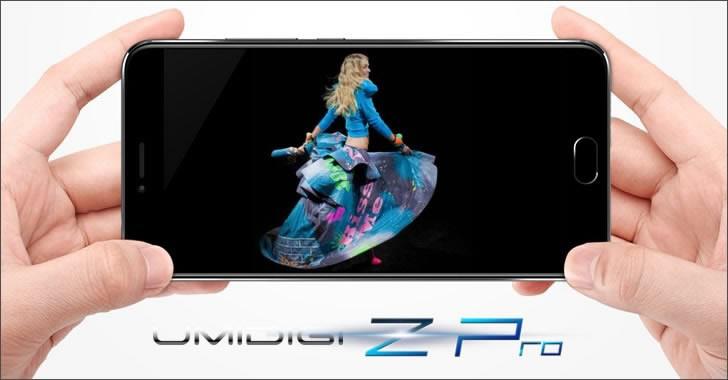 UMIDIGI Z Pro screen