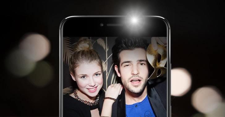 UMIDIGI Z Pro selfie flashlight