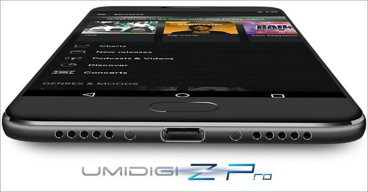 UMIDIGI Z Pro USB-c