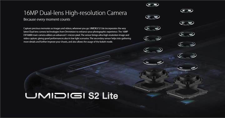 Umidigi S2 Lite camera